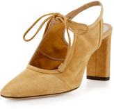 The Row Camil Suede Slingback 80mm Pump