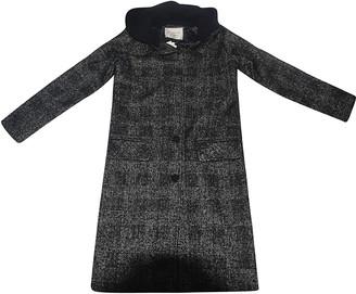 LES COYOTES DE PARIS Martha Checked Coat