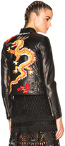 Valentino Dragon Embroidery Jacket