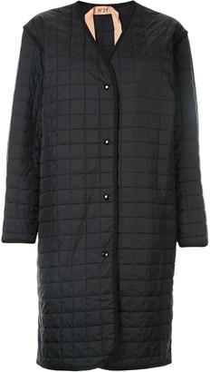 No.21 Padded Grid Coat