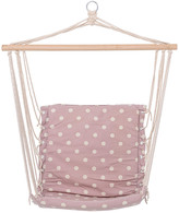 Bloomingville - Hammock Chair - Mauve Dots