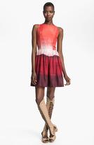 Skaist-Taylor 'Georgia' Print Silk Dress
