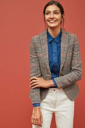 Next Womens Brown Harris Tweed Jacket - Brown
