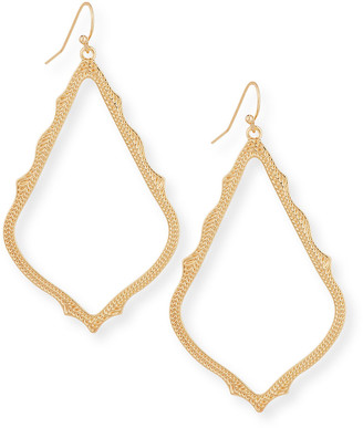 Kendra Scott Sophee Statement Drop Earrings in Rose Gold Plate