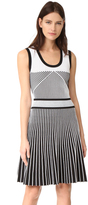 Prabal Gurung Sleeveless Fit & Flare Dress