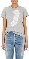 Comme des Garcons Women's Lace-Graphic Cotton T-Shirt