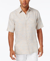 Tasso Elba Men's Big & Tall Naples Printed Short-Sleeve Shirt, Only at Macy's