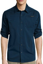 ZeroXposur Air Long-Sleeve Woven Button-Front Shirt