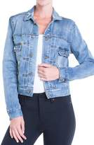 Liverpool Jeans Company Women's Pleated Denim Jacket