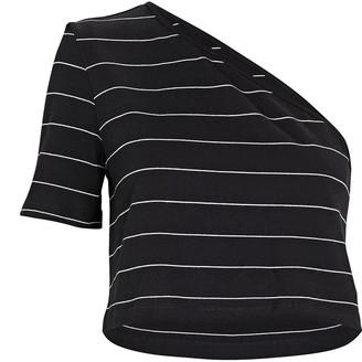 The Range Striped Bare Shoulder T-Shirt