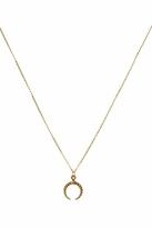 Belle Noel by Kim Kardashian Mini Rams Horn Charm Necklace in Gold