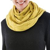 Yellow Cable Knit 100% Baby Alpaca Infinity Scarf, 'Mustard Braids'