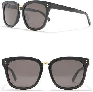 Stella McCartney 56mm Square Sunglasses