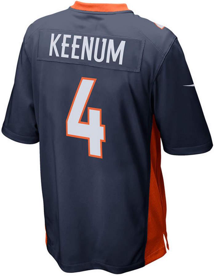 new arrival 1213b 816ee Men Case Keenum Denver Broncos Game Jersey