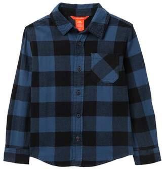 Joe Fresh Plaid Shirt (Little Boys & Big Boys)