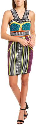 BCBGMAXAZRIA Keyhole Sheath Dress