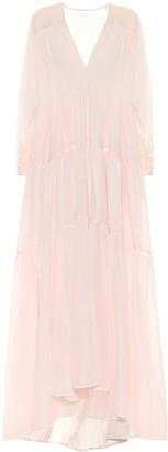 Kalita Exclusive to Mytheresa Vega cotton voile maxi dress