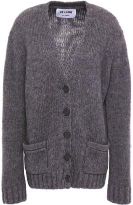 RE/DONE Melange Brushed Knitted Cardigan