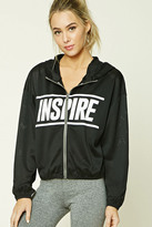 Forever 21 FOREVER 21+ Active Inspire Graphic Jacket