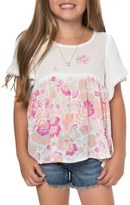 O'Neill Toddler Girl's Astor Floral Top