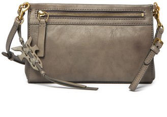 Frye Carson Leather Wristlet Crossbody Bag