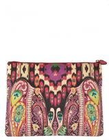 Etro Clutch Bag With Paisley Motif