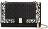 Salvatore Ferragamo Vara mosaic bag - women - Silk/Cotton/Leather/Metal (Other) - One Size