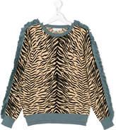 Stella McCartney tiger print sweatshirt