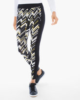 Chico's Print-Front Leggings