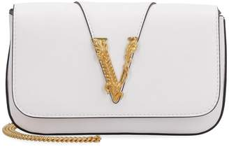 Versace Virtus Leather Mini-bag
