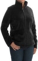 Weatherproof Plush Pile Fleece Jacket (For Plus Size Women)