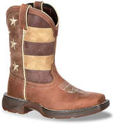 Durango Girls Lil Rebel Faded Glory Flag Toddler & Youth Cowboy Boot