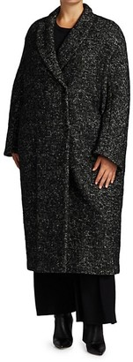 Marina Rinaldi, Plus Size Tonalita Oversized Boyfriend Coat