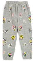 Lauren Moshi Toddler's, Little Girl's & Girl's Happy Sweatpants