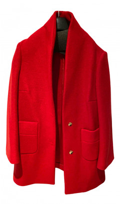 Annie P. Red Wool Coats