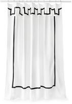 Jonathan Adler Santorini Shower Curtain - Black & White