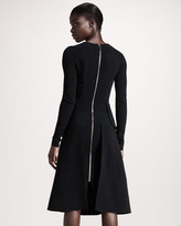 Roland Mouret Barnicles Stretch-Crepe Dress