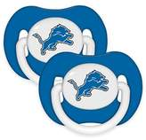Baby Fanatic NFL Detroit Lions 2-Pack Pacifiers