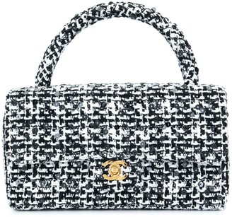 Chanel Pre Owned 1991-1994 quilted CC logo hand bag