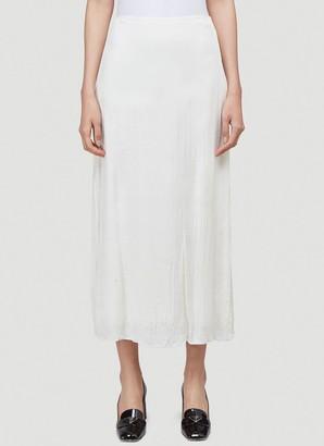 Prada Slip Midi Skirt