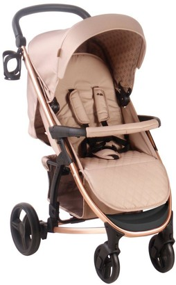My Babiie Dreamiie MB200 Mocha Monogram Pushchair