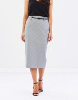 Dorothy Perkins Prince Of Wales Check Pencil Skirt