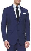 Paul Smith Hairline Stripe Two-Piece Suit, Blue