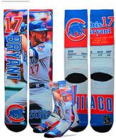 For Bare Feet Kris Bryant Chicago Cubs Trading Card Player Crew Socks