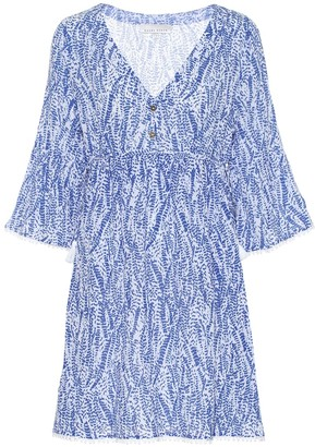 Heidi Klein Amoudi Bay Tie Side cotton cover-up
