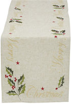 DESIGN IMPORTS Design Imports Embroidered Merry Christmas Table Runner