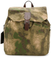 Golden Goose Deluxe Brand camouflage backpack