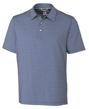 Cutter & Buck Cutter and Buck Men's Big and Tall Division Stripe Polo
