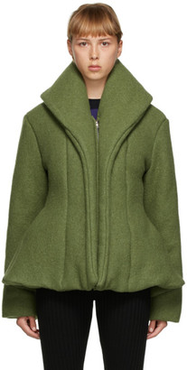Paula Canovas Del Vas Green Puffy Jacket