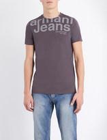 Armani Jeans Crewneck stretch-cotton t-shirt